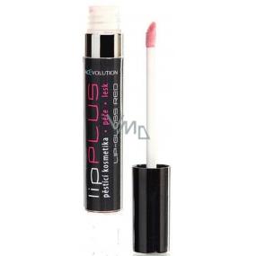 FacEvolution LipPlus Gloss lesk na rty se zvětšujícím efektem, vyhlazující, hydratační Red 5 ml