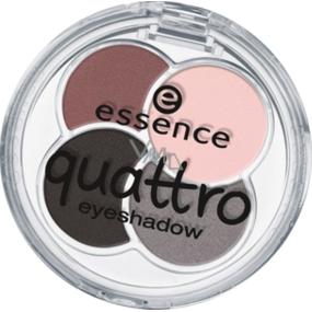 Essence Quattro Eyeshadow oční stíny 19 greys n' roses 5 g