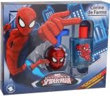 Corine De Farme Spiderman toaletní voda pro chlapce 50 ml + světelkující káča, dárková sada