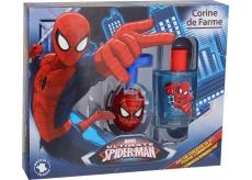 Corine de Farme Marvel Spiderman toaletní voda pro chlapce 50 ml + světelkující káča, dárková sada