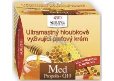 Bione Cosmetics Bio Med Propolis a Q10 Ultramastný hloubkově vyživující pleťový krém 51 ml