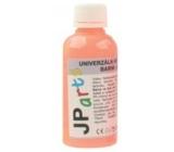 JP arts Univerzální akrylátová barva lesklá, svítící ve tmě Neon oranžová 50 g