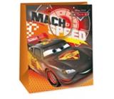 Ditipo Dárková papírová taška 33 x 10,2 x 45,7 cm Disney Cars Mach Speed