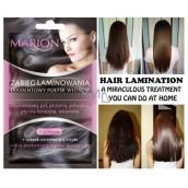 Marion Laminating mask laminovací maska na vlasy pro diamantový lesk 2 x 10 ml
