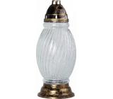Admit Lampa skleněná 43 cm 84 hodin 360 g 28589
