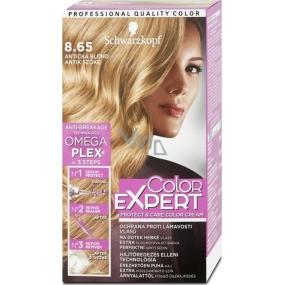 Schwarzkopf Color Expert barva na vlasy 8.65 Antická blond