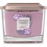 Yankee Candle Sugared Wildflowers - Sladké divoké květiny sojová vonná svíčka Elevation střední sklo 3 knoty 347 g