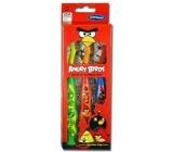 Angry Birds Měkký kartáček na zuby s přísavkou pro děti 3 kusy