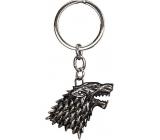 Epee Merch Hra o Trůny Game of Thrones- Stark Klíčenka kovová 4,5 x 6 cm