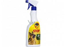 Bio-Enzym Stop Pes přírodní odpuzovač psů pro použití v interiéru i v exteriéru rozprašovač 500 ml