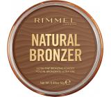 Rimmel London Natural Bronzer bronzující pudr 002 Sunbronze 14 g