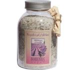 Bohemia Gifts & Cosmetics Levandule s bylinkami Uklidňující koupelová sůl 1,2 kg