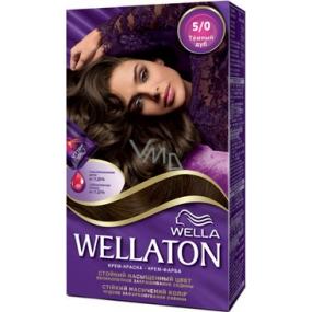 Wella Wellaton krémová barva na vlasy 5 0 Světle hnědá - VMD ... 6a683e25264