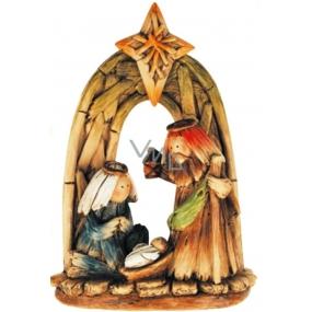 Betlém barevný oblouk 20 x 15 cm