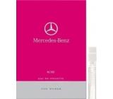 Mercedes-Benz Mercedes Benz Rose toaletní voda pro ženy 1,5 ml s rozprašovačem, Vialka