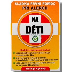 Nekupto Sladká první pomoc 2 Ovocné žvýkačky při alergii Na děti 10 ks 003