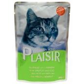 Plaisir Cat Losos a treska kapsička 100 g
