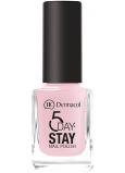 Dermacol 5 Day Stay Dlouhotrvající lak na nehty 06 First Kiss 11 ml