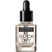 Gabriella Salvete Nail Care Quick Dry Drops kapky pro urychlení schnutí laku na nehty 20 Transparent 11 ml