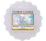 Yankee Candle Sweet Nothings - Sladké nic vonný vosk do aromalampy 22 g