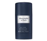 Abercrombie & Fitch First Instinct Blue Men deodorant stick 75 g