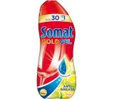 Somat Gold Gel Anti-Grease Lemon & Lime gel s aktivním odmašťovačem na mytí nádobí v myčce 990 ml