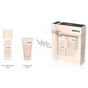 Mexx Forever Classic Never Boring for Her parfémovaný deodorant sklo 75 ml + sprchový gel 50 ml, kosmetická sada