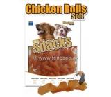 Magnum Kuřecí spirálky měkké přírodní masová pochoutka pro psy 25 g