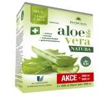 Pharma Activ AloeVeraLife Natura obsahuje 99,5% šťávu z aloe, pro podporu obranyschopnosti, doplněk stravy 2 x 1000 ml, sada