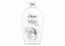 Dove Nourishing Secrets Pečující Rituál Kokos tekuté mýdlo dávkovač 250 ml