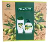 Palmolive Naturals Olive & Milk sprchový krém 250 ml + tekuté mýdlo 300 ml, kosmetická sada