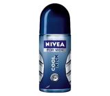 Nivea Men Cool Kick kuličkový antiperspirant deodorant roll-on pro muže 50 ml