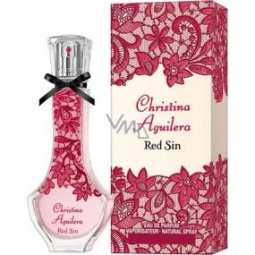 Christina Aguilera Red Sin parfémovaná voda pro ženy 50 ml