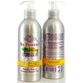 Ma Provence Bio Květ mimózy Pravý přírodní sprchový gel 250 ml