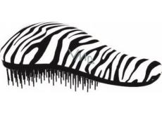 Dtangler Detangling Brush Kartáč pro snadné rozčesání vlasů 18,5 cm bílo-černý