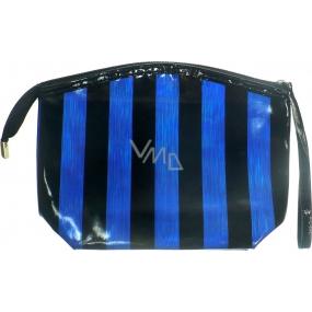 Etue Modro černý pruh 22 x 16 x 7 cm 70450