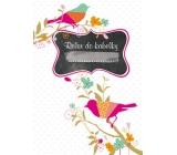 Ditipo Relax do kabelky Ptáček zápisník 15 x 10,5 cm