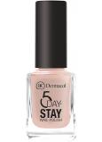 Dermacol 5 Day Stay Dlouhotrvající lak na nehty 08 Nude Skin 11 ml