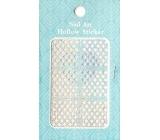 Nail Accessory Hollow Sticker šablonky na nehty 129 multibarevné kostičky 1 aršík
