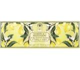 English Soap Citron & Mandarinka Přírodní parfémované mýdlo s bambuckým máslem 3 x 100 g
