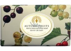 English Soap Vintage Autumn Fruits Přírodní parfémované mýdlo s bambuckým máslem 200g