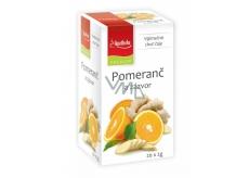 Apotheke Natur Pomeranč a zázvor ovocný čaj napomáhá k trávení, dýchání a duševní pohodě 20 x 2 g