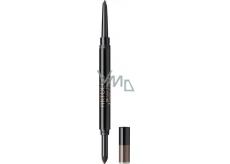 Artdeco Brow Duo tužka na obočí s pěnovým aplikátorem 12 Ebony 0,3 g