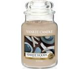 Yankee Candle Seaside Woods - Přímořské dřeva vonná svíčka Classic velká sklo 623 g