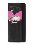 Albi Original Peněženka psaníčko Kočka 20 x 9 x 1,5 cm