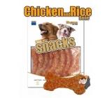 Magnum Kuře a rýže kost měkká, přírodní masová pochoutka pro psy 250 g