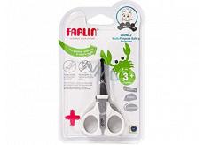 Baby Farlin Nůžky s pilníčkem pro děti 3+