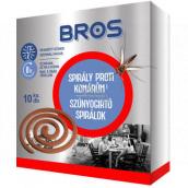 Bros Spirála proti komárům 10 kusů