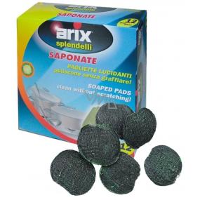 Arix Drátěné polštářky napuštěné 12 kusů citronová vůně