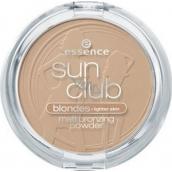 Essence Sun Club Blondes matující bronzový pudr 01 Natural 15 g